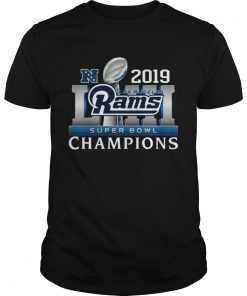 Los Angeles Rams 2019 Super Bowl Champions  Unisex