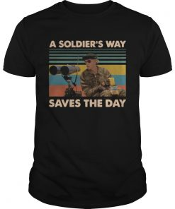 Mark Rumsfield A soldiers way saves the day vintage  Unisex