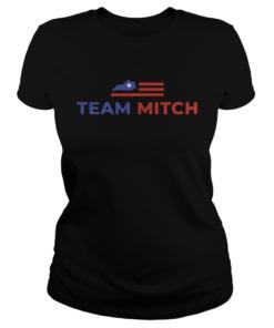 McConnell Team Mitch America Flag  Classic Ladies
