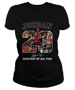 Michael Jordan 23 signature greatest of alltime  Classic Ladies