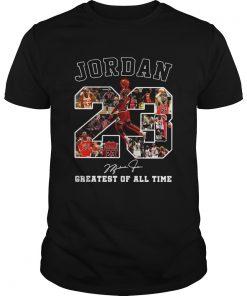 Michael Jordan 23 signature greatest of alltime  Unisex