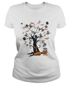 Mickey Mouse tree Halloween  Classic Ladies