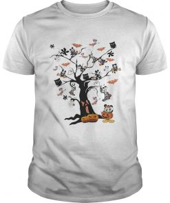 Mickey Mouse tree Halloween  Unisex