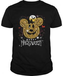 Mickey head happy halloween  Unisex
