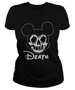 Mortem Mouse Death Shirt Classic Ladies