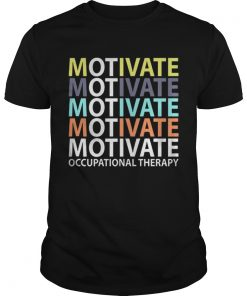 Motivate Occupational Therapy Vintage  Unisex