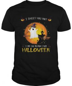 Official I Sheet You Not Im So Ready For Halloween Boo Witch Costume  Unisex