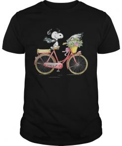 Philadelphia Eagles Snoopy riding a bicycle  Unisex