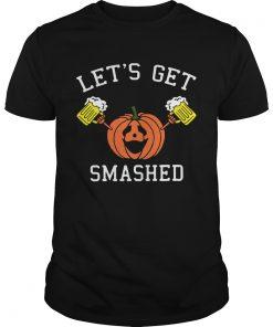Pumpkin lets get smashed  Unisex