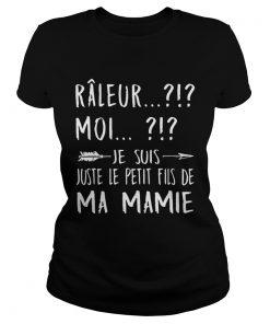 Rleur Moi Je Suis Juste La Fille De Ma Mamie Arrow Version T Classic Ladies