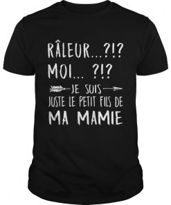 Rleur Moi Je Suis Juste La Fille De Ma Mamie Arrow Version T Unisex