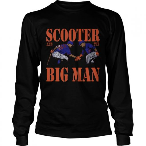 Scooter and the Big man  LongSleeve