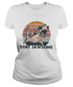Shark stay jawsome vintage  Classic Ladies