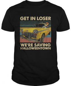 Skeleton Taxi get in loser were saving Halloweentown vintage  Unisex