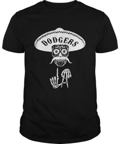 Skull Los Angeles Dodgers  Unisex
