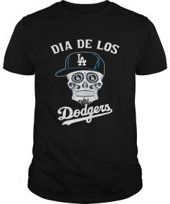 Skull dia de Los Angeles Dodgers  Unisex