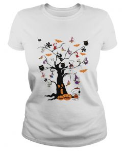 Snoopy Halloween tree  Classic Ladies