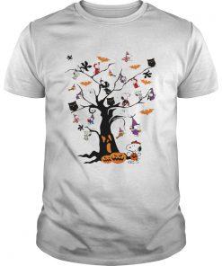 Snoopy Halloween tree  Unisex