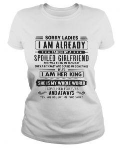 Sorry ladies I am already taken by a spoiled girlfriend she was born Classic Ladies