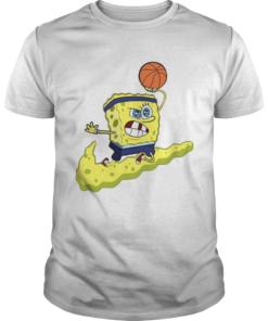 Spongebob Basketball Shirt Unisex