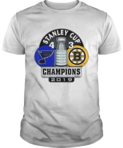 Stanley cup champions St louis blues 4 3 boston bruins  Unisex