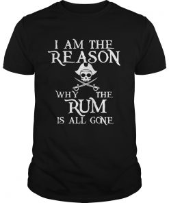 The Rum Is All Gone Shirt Unisex