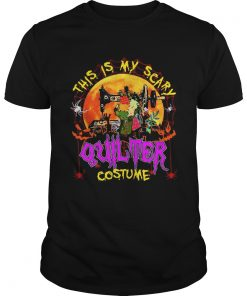 This is my scary quilter costume Halloween  Unisex