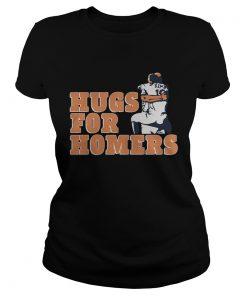Tony Kemp And Evan Gattis Hug For Homers Shirt Classic Ladies