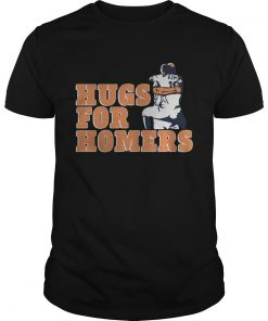 Tony Kemp And Evan Gattis Hug For Homers Shirt Unisex