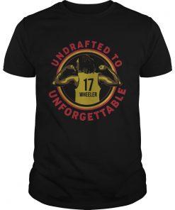 Undrafted To Unforgettable Erica Wheeler Shirt Unisex