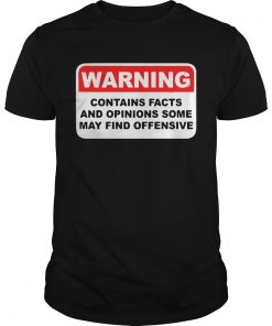 Warning contains facts and options some may find offensive  Unisex