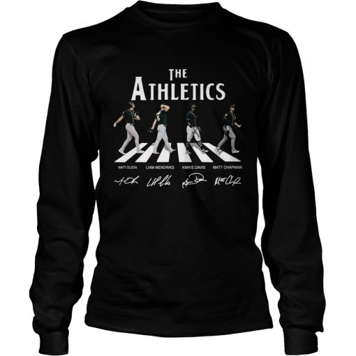 The Beatles Abbey Road The Athletics shirt