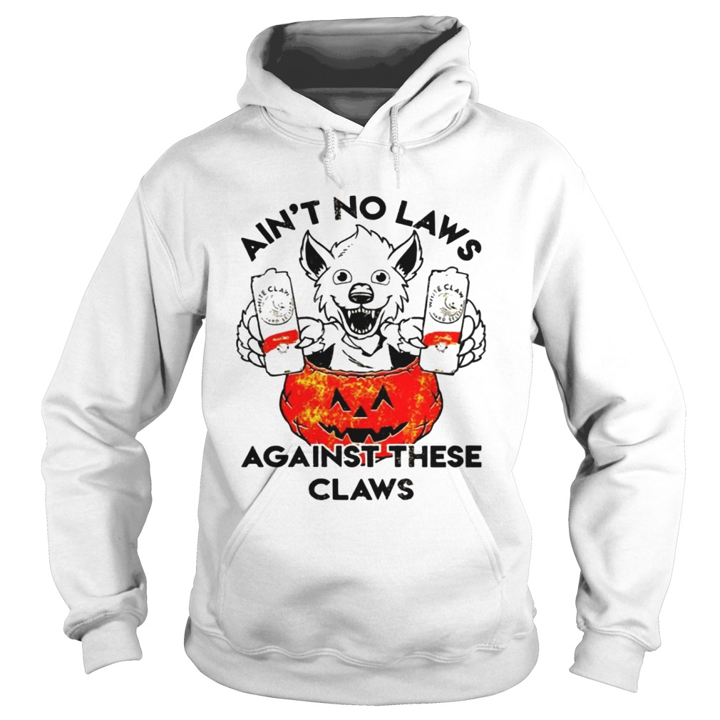 Aint no laws against these claws Halloween Hoodie