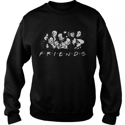 All Halloween Characters Friends  Sweatshirt