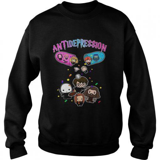 Antidepression Harry Potter  Sweatshirt