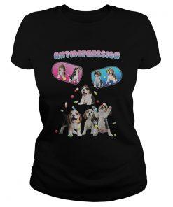 Antidepression cute beagles dogs  Classic Ladies