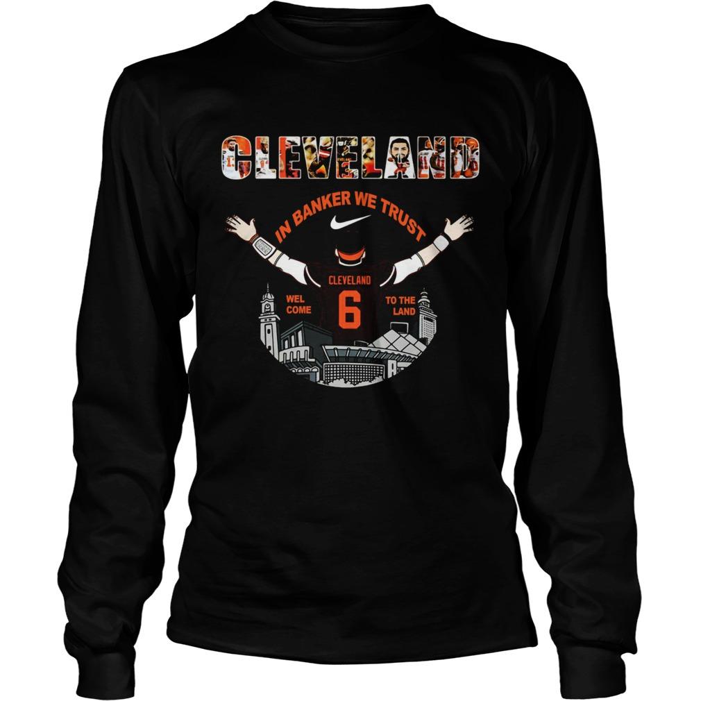 Baker Mayfield Player Cleveland Browns NFL 2019 LongSleeve