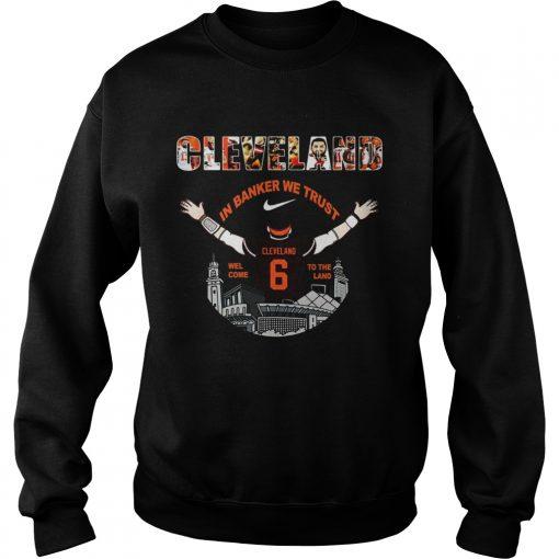 Baker Mayfield Player Cleveland Browns NFL 2019  Sweatshirt