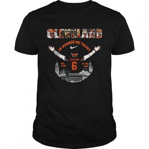 Baker Mayfield Player Cleveland Browns NFL 2019  Unisex