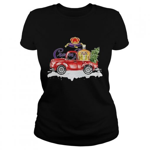 Crown Royal Whisky christmas truck  Classic Ladies