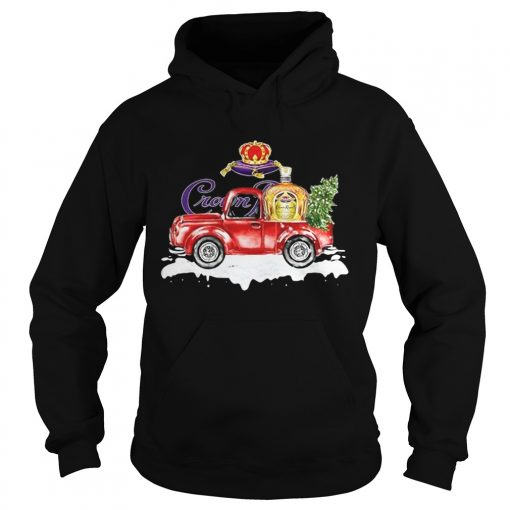 Crown Royal Whisky christmas truck  Hoodie