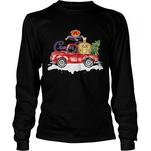 Crown Royal Whisky christmas truck  LongSleeve
