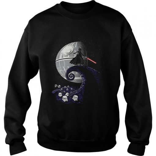 Darth Vader nightmare before christmas  Sweatshirt