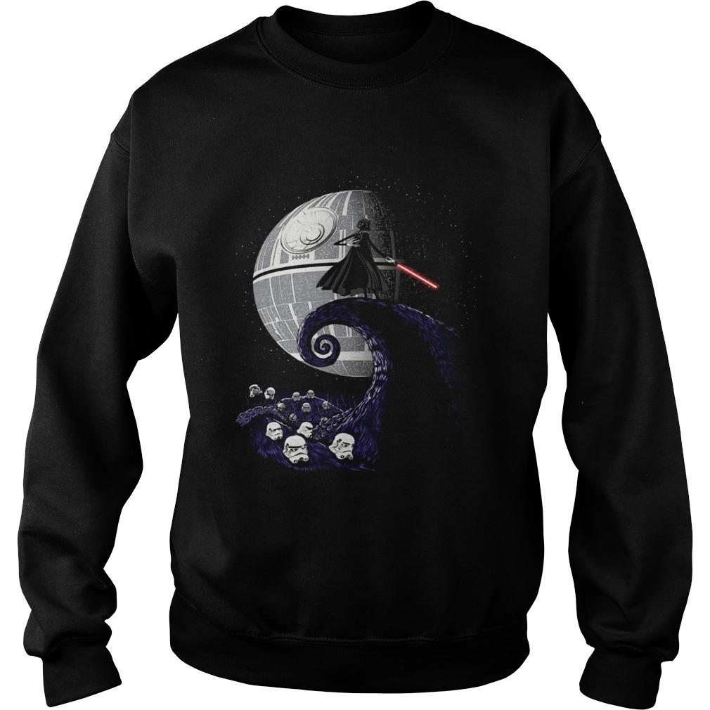 Darth Vader nightmare before christmas Sweatshirt