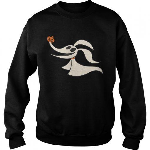 Disney Halloween Nightmare Before Christmas Zero TShirt Sweatshirt