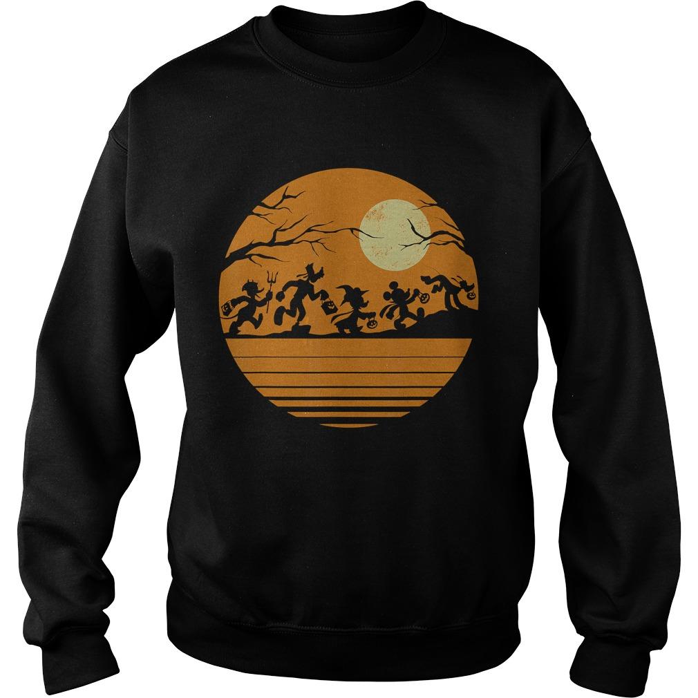Disney Mickey Mouse and Friends Halloween TShirt Sweatshirt