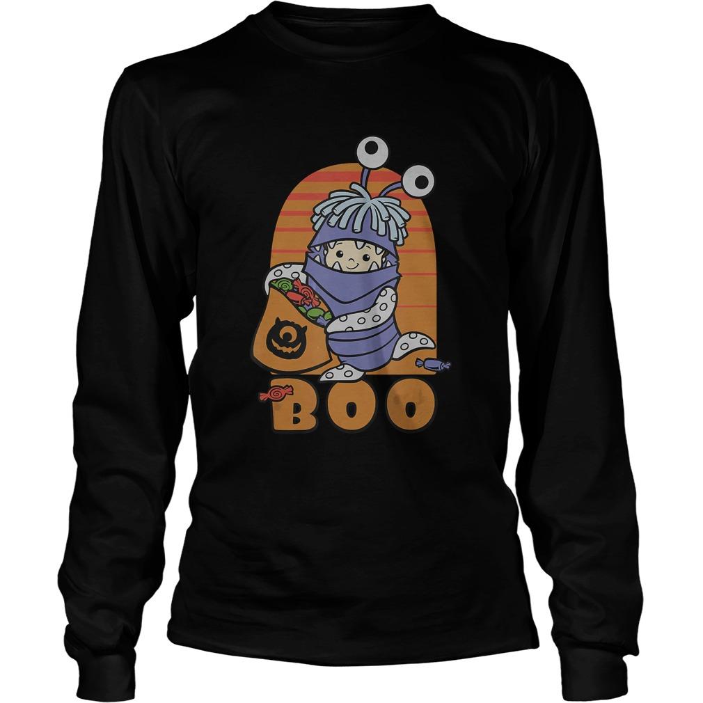 Disney PIXAR Monster Inc BOO Halloween TShirt LongSleeve