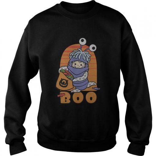 Disney PIXAR Monster Inc BOO Halloween TShirt Sweatshirt