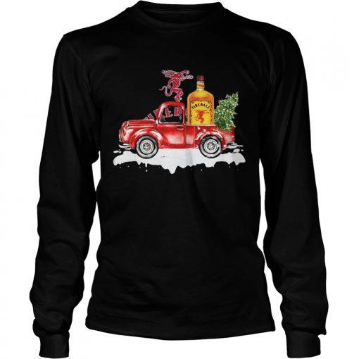 Fireball Cinnamon Whisky christmas truck  LongSleeve