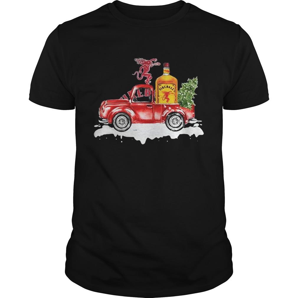 Fireball Cinnamon Whisky christmas truck Unisex